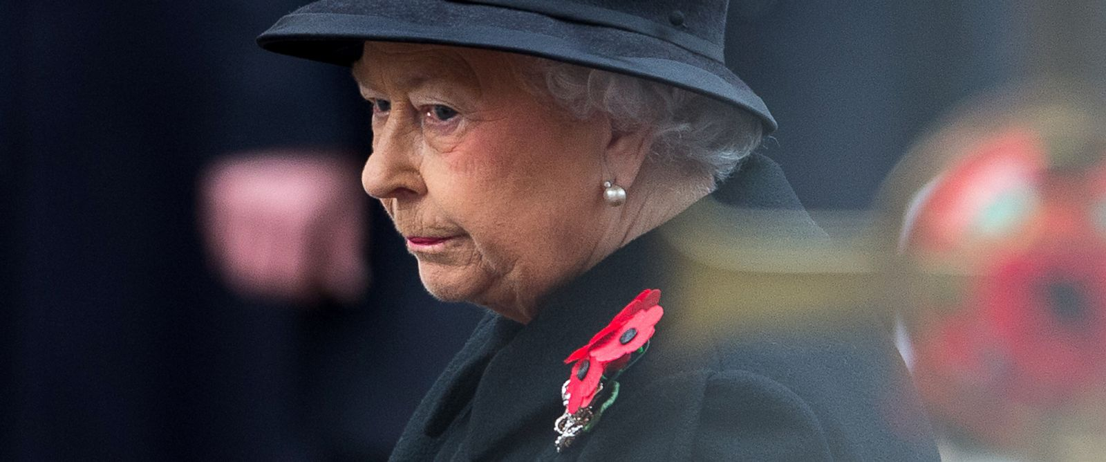 PHOTO: Britains Queen Elizabeth II listens during the service of remembrance at the Cenotaph in Whitehall, London in this Nov. 9, 2014 file photo.