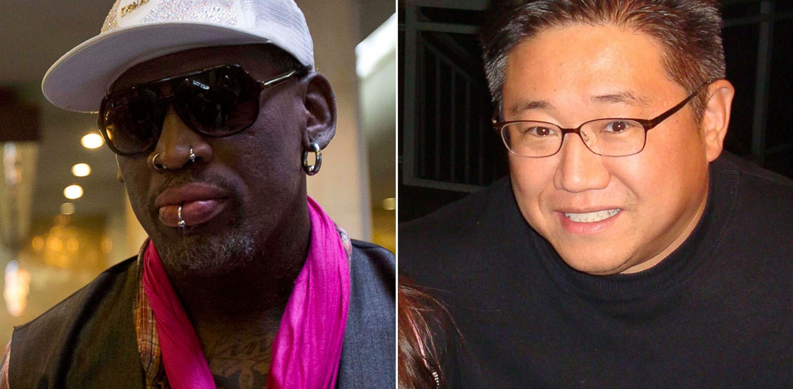 PHOTO: Dennis Rodman and Kenneth Bae
