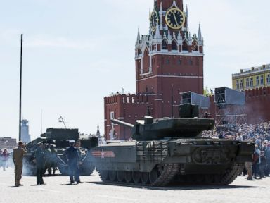 The Embarrassing Thing That Happened to One Russian Tank