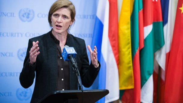 AP samantha powers sk 140303 16x9 608 Top 6 Moments When the US Ambassador Ripped Into Russia