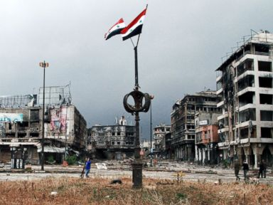 Photos: Syrian City Left Desolate as Rebels Surrender