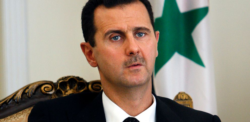 PHOTO: Syrian President Bashar al-Assad in Tehran, Iran, Aug. 19, 2009.