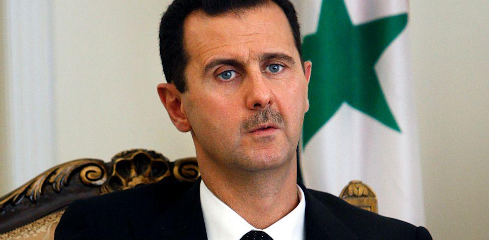PHOTO: Syrian President Bashar al-Assad in Tehran, Iran, Aug. 19, 2009.