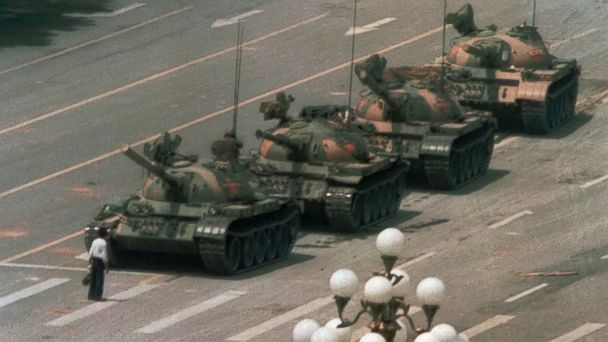 AP tiananmen tank man jtm 140604 16x9 608 Tiananmen Square Survivor Reflects on 25 Years, Demands Freedom and Reform
