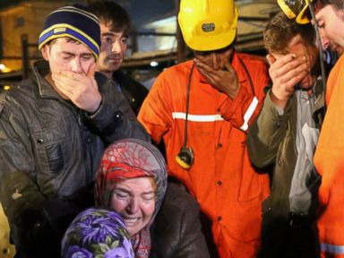 Photos: Grief, Tears in Turkey After Coal Mine Explosion Kills Hundreds