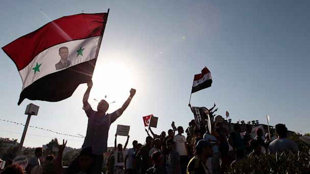 AP turkey syria crisis protesters jt 130901 16x9 608 Syrias Response to Obama Speech: We Won