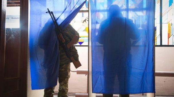 AP ukraine elections 1 jt 141102 16x9 608 Ukrainian Rebel Regions Vote, With Fake Election Monitors, Real Anger