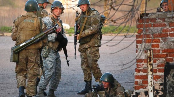 AP ukraine military russian sk 140415 16x9 608 Ukraine Retakes Airfield With Anti Terrorist Operation