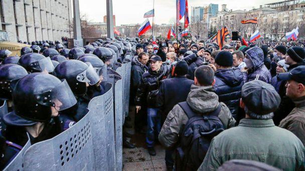 AP ukraine russia conflict jt 140316 16x9 608 Following Vote, Change Slowly Comes to Crimea