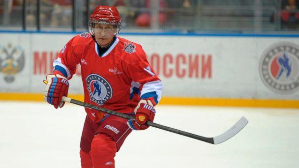 AP vladimir putin hockey jt 140510 16x9 608 Putin Rules the Rink