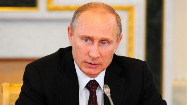 AP vladimir putin jt 140524 16x9 608 Putin Denies Trying to Bring Back the USSR