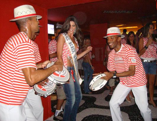 Dancing in Streets for Carnival