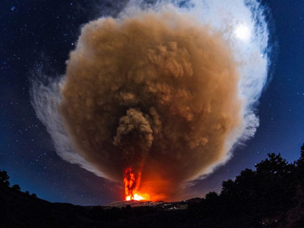 Image result for mt etna eruption