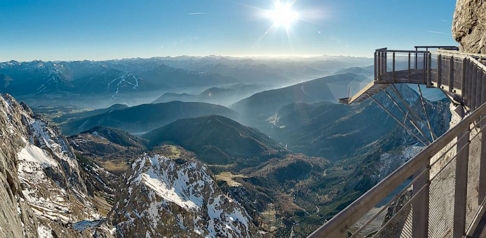 PHOTO: The Dachstein Suspension Bridge