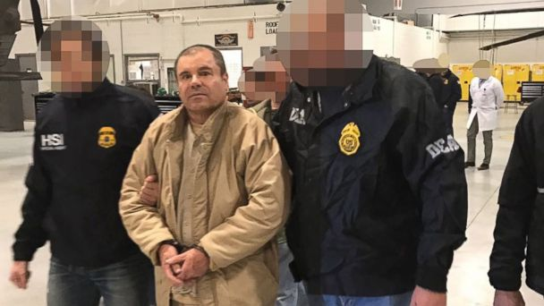 PHOTO: A handout photo made available by the Mexican Secretariat of the Interior (SEGOB) on Jan. 20, 2017 shows Mexican drug trafficker Joaquin