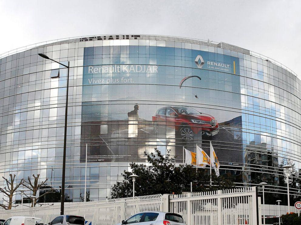 PHOTO: French car manufacturer Renault headquarters in Boulogne Billancourt, near Paris, is pictured Jan. 14, 2016.