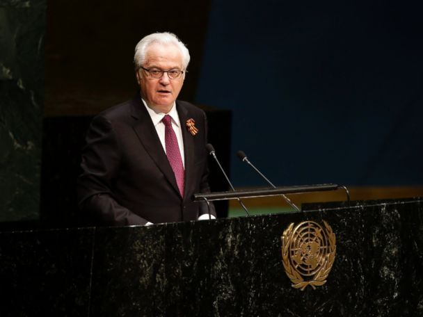 Russia's ambassador to the United Nations dies