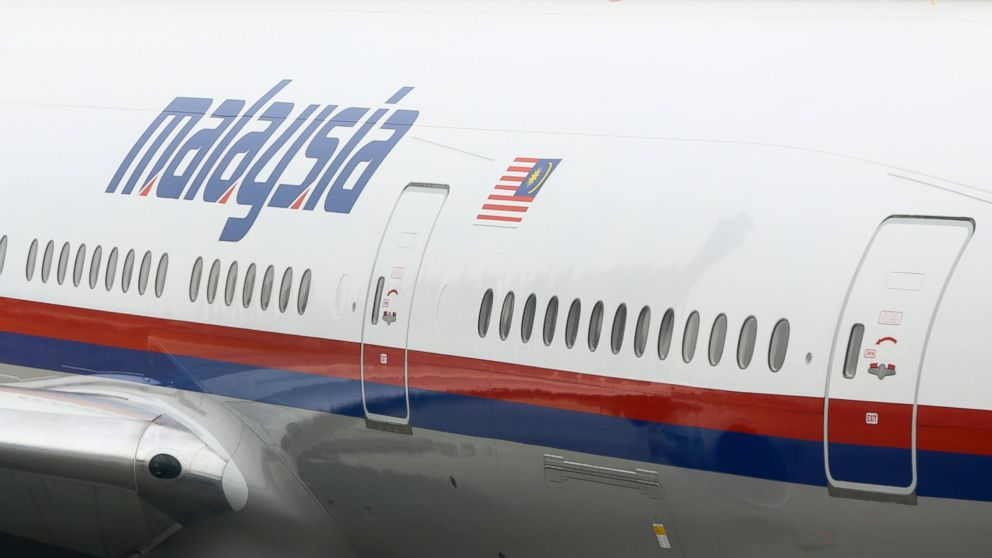 PHOTO: A file picture dated, March 10, 2014, shows a Malaysia Airlines Boeing 777-200 airplane sitting on the tarmac at the Beijing Capital International Airport in Beijing.