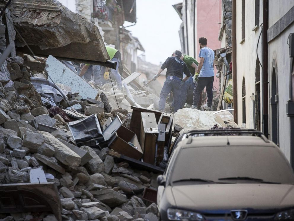 ... Toll Climbs to 247 After Earthquake in Central Italy, 368 Injured