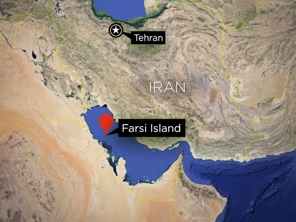 Farsi Island Map - ABC News