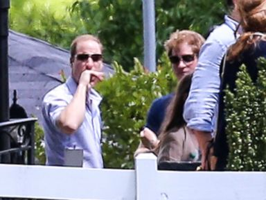 Photos: Prince Harry in Memphis with Prince William
