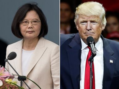 China Lodges Diplomatic Protest After Trump's Call With Taiwan's President