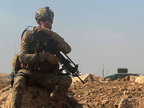 200 more US troops headed to Iraq to assist Mosul offensive