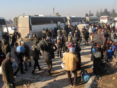Thousands Evacuated From Aleppo as UN Votes to Monitor the Area