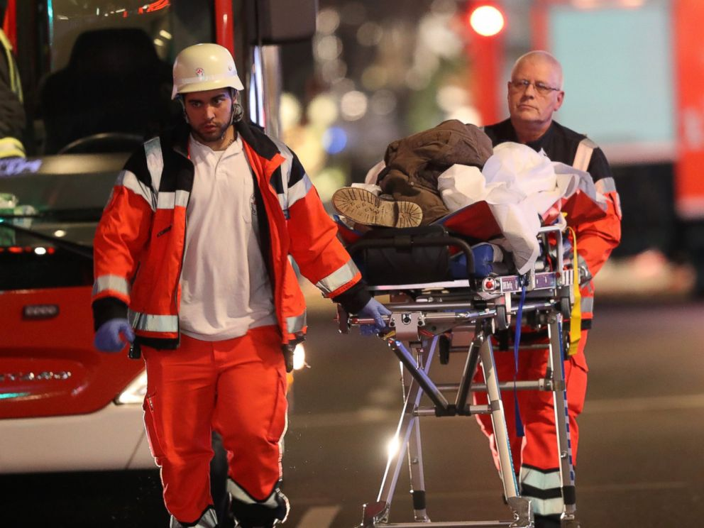 Image result for injured; wounded; berlin; attack; christmas; images