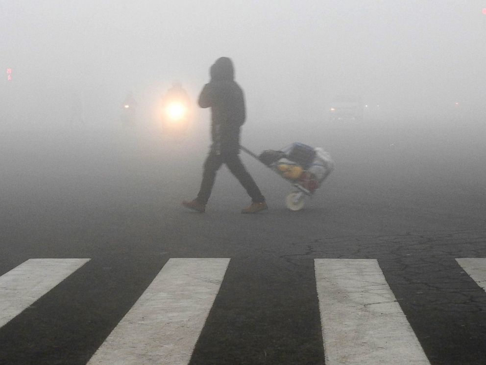 460 Million Chinese Suffering From 'Airpocalypse'