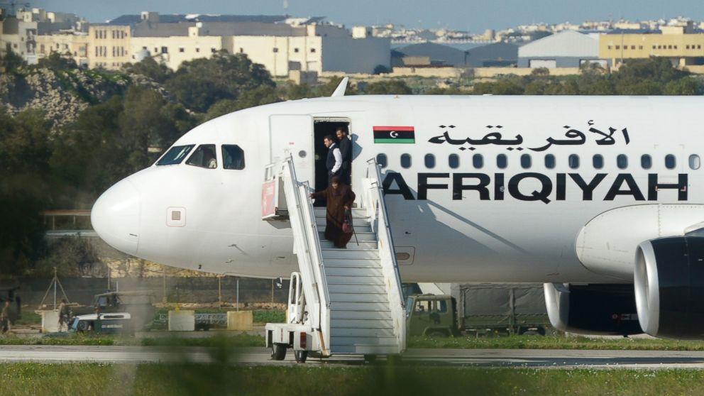 Libyan  Jet Hijackers Surrender After Releasing Passengers and Crew