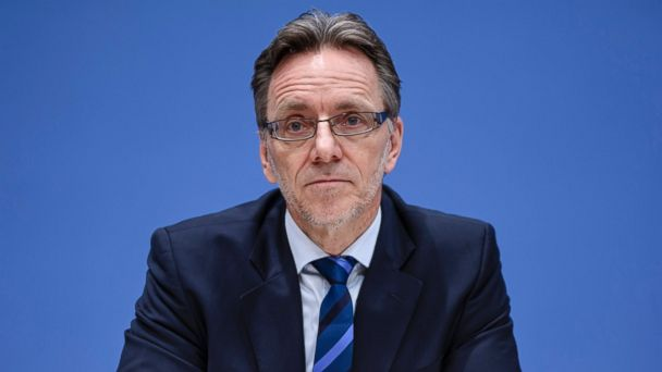 PHOTO: Holger Muench, President of the Federal Criminal Police Office (BKA) addresses a press conference in Berlin, Dec. 20, 2016, a day after a terror attack on a Christmas market in Berlin.