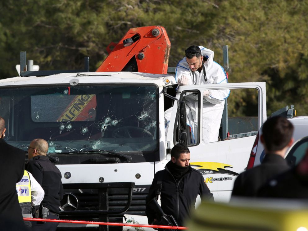 Image result for israel truck attack