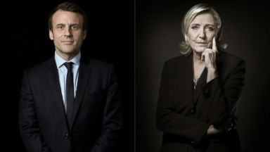 Centrist Macron, populist Le Pen advance in French election that has consequences for Europe
