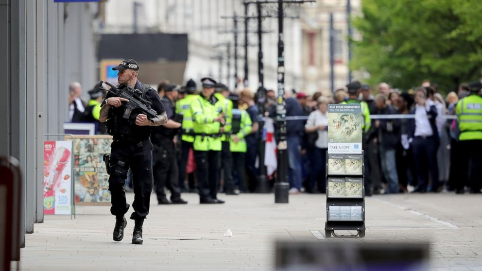 Police arrest a 23-year-old in relation to Manchester attack