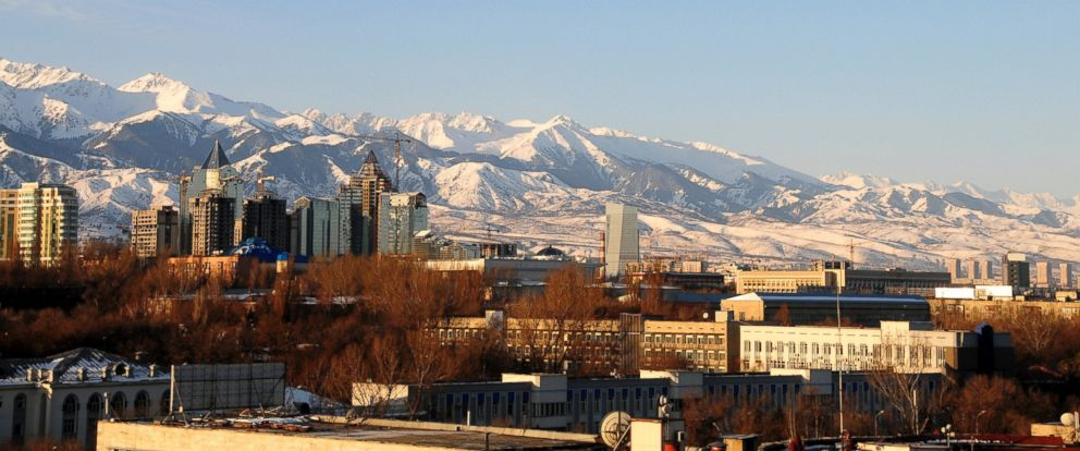 PHOTO: Almaty, Kazakhstan, is hoping to host the 2022 Olympics.