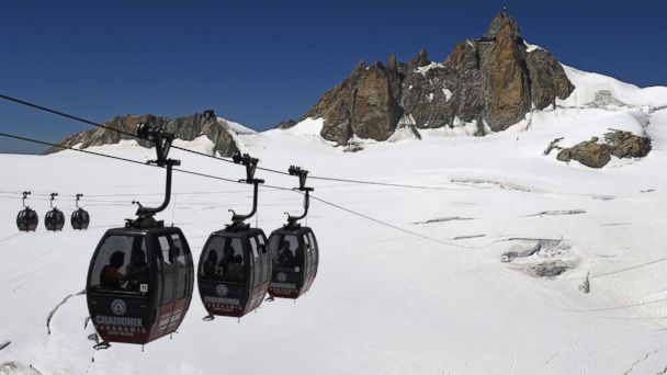 Passengers stranded in Mont Blanc cable cars for 17 hours