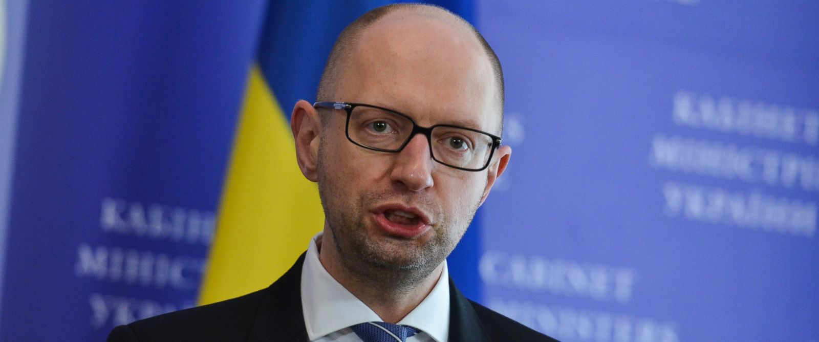 PHOTO: Prime Minister of Ukraine Arseniy Yatsenyuk is seen in Kiev, Ukraine, Feb. 15, 2016.