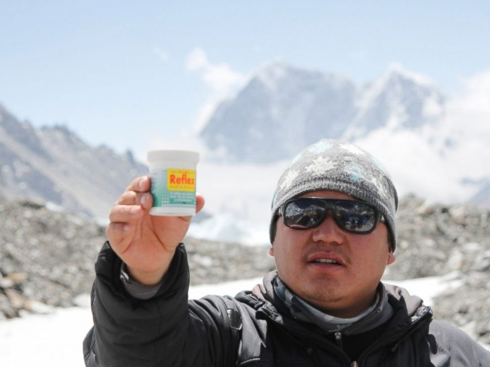 PHOTO: Ash Gurung, one of the Sherpas presumably dead after the April 18, 2014, avalanche on Mt. Everest.