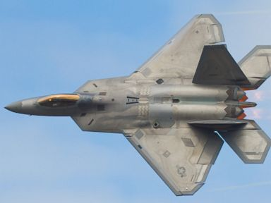PHOTO: Lockheed Martin F-22A Raptor carries out a Dedication Pass as part of its display at Joint Base Elmendorf-Richardson, Anchorage, Alaska.