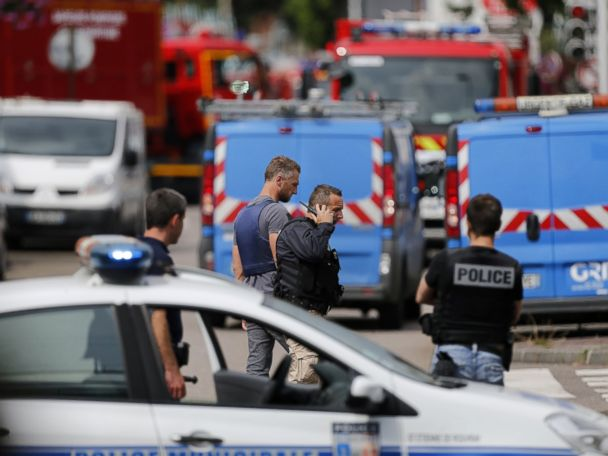French Church Attackers 'Claimed Allegiance to ISIS'