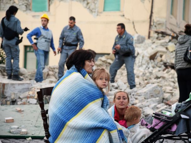 Ground Still Shaking as Italy Quake Death Toll Rises to 267