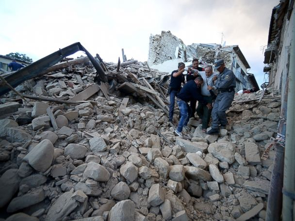 Dozend Killed, Widespread Damage After Strong Quake in Central Italy