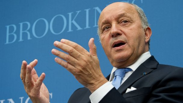 GTY Laurent Fabius mar 140513 16x9 608 Syria Used Chemical Weapons 14 Times Since October, French Minister Says