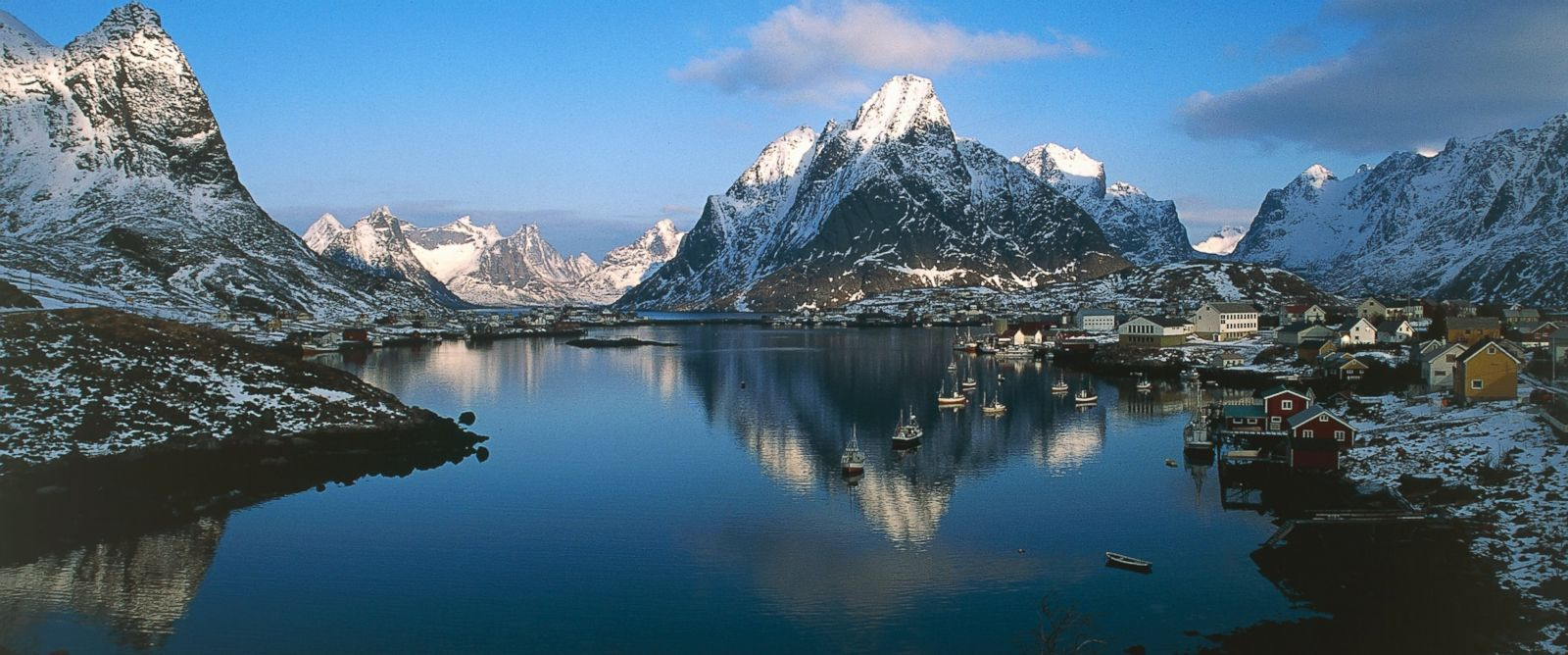 PHOTO: Pictured here are the Lofoten islands in Nordland County, Norway.