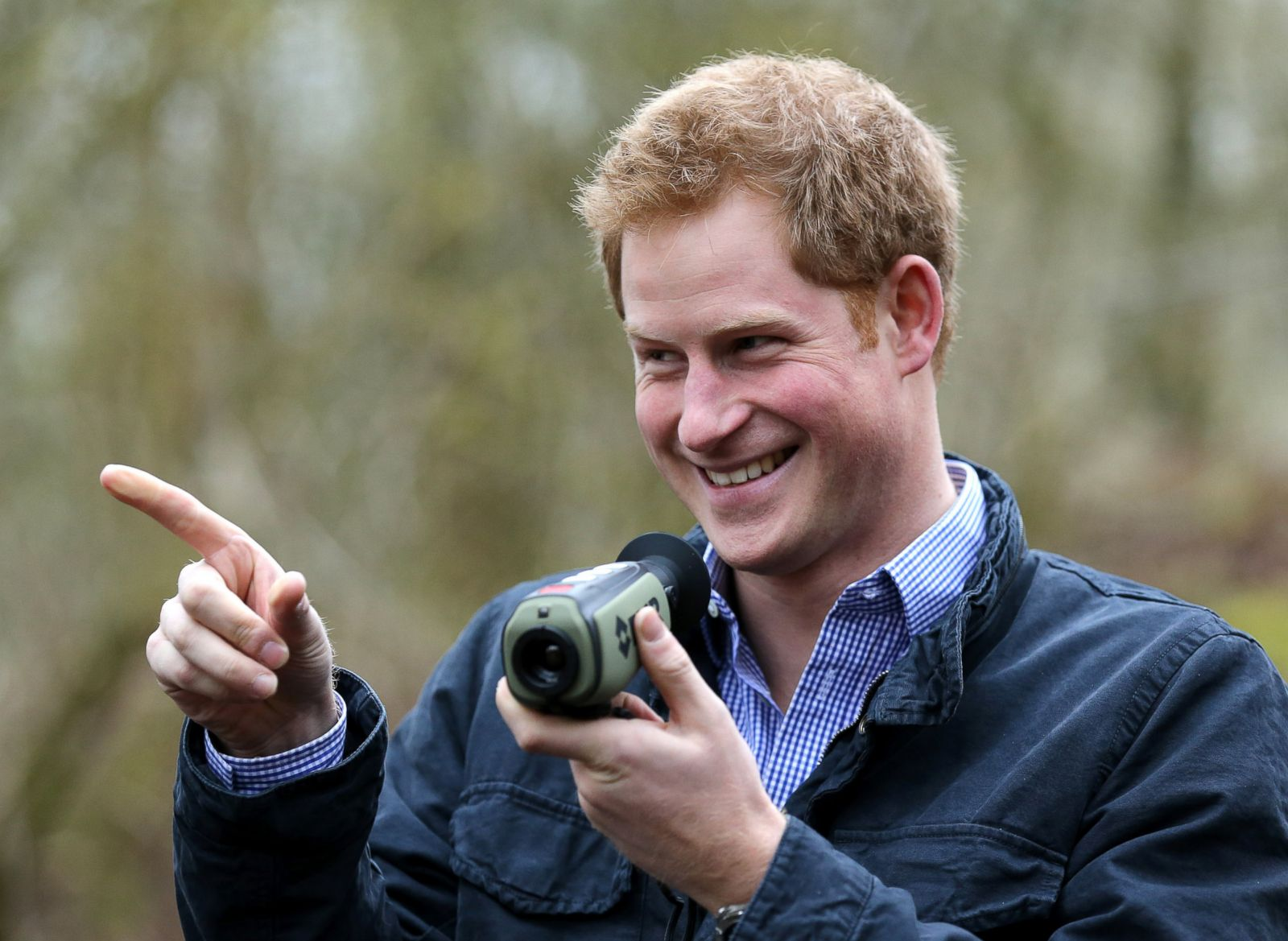 Prince Harry Flashes A Smile Picture Prince Harry