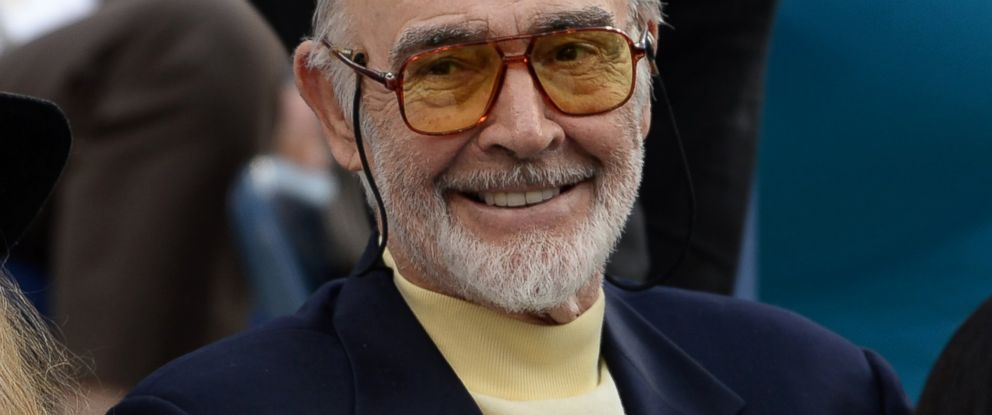PHOTO: Sir Sean Connery attends the 2013 US Open at USTA Billie Jean King National Tennis Center in New York in this Sept. 9, 2013 file photo.