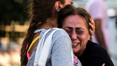 PHOTO: A mother of victims reacts outside a forensic medicine building close to Istanbuls airport, June 29, 2016.