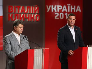 Boxing Champ Vitali Klitschko Claims Knock Out in Kiev Mayor's Race