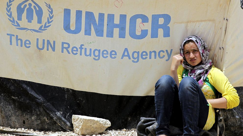 PHOTO: A Syrian refugee